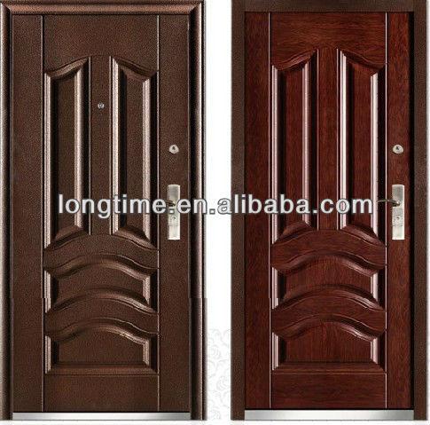 Superior DOUBLE Color Popular Russia Steel Door (lt 313) New Model