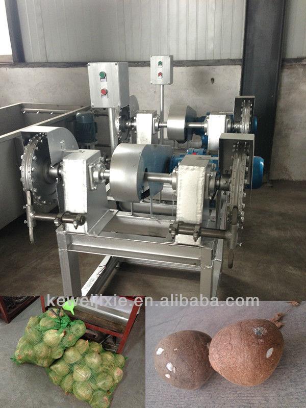 Coconut Husk Cutting Machine