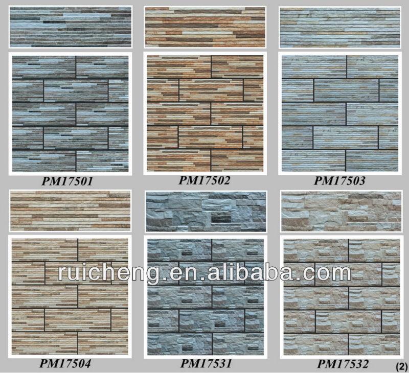New 3d Pocerlain Out Door Inkjet Wall Tile Design In China 175