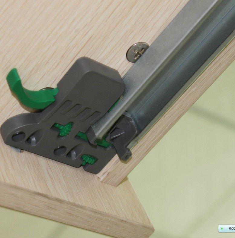 Blumotion Full Extension Undermount Slide With Locking