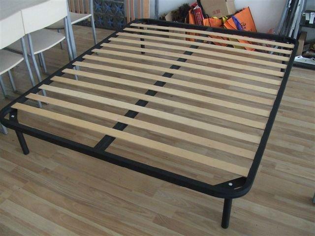 heze kaixin furniture dorm bed frame with wooden slats - Dorm Bed Frame