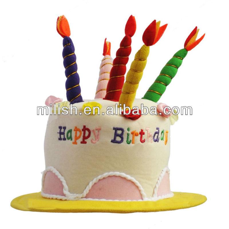 Mooie Kinderen Feest Verjaardag Dag Taart Hoed Mh 1715 Buy