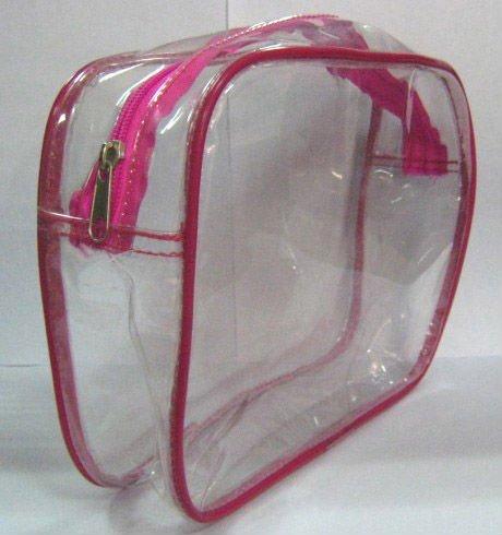 (XHF-PVC-022)cosmetic clear pvc packing bag