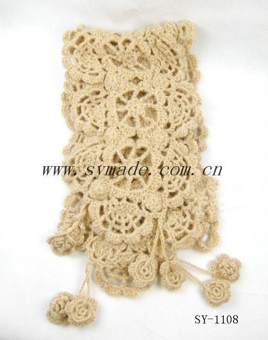Asombroso Los Patrones De Crochet Bufandas Ornamento - Ideas de ...