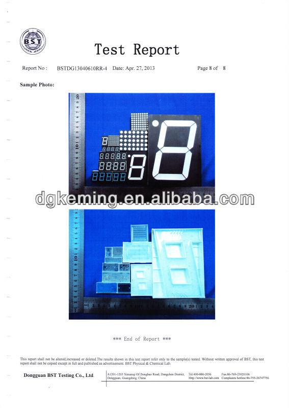 5 Inch Display 7 Segment Led Digital 1 Single Digit Big Module ...