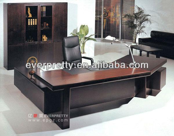 Moderne bureau exécutif bureau table conception grand bureau