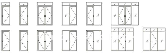 Bathroom Doors Types aluminium bathroom doors types of bathroom single doors design