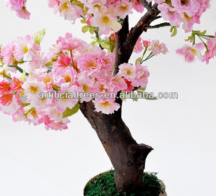 Artificial Bonsai Cherry Blossom Tree For Office/fake Cherry Blossom Tree  For Home/Artificial
