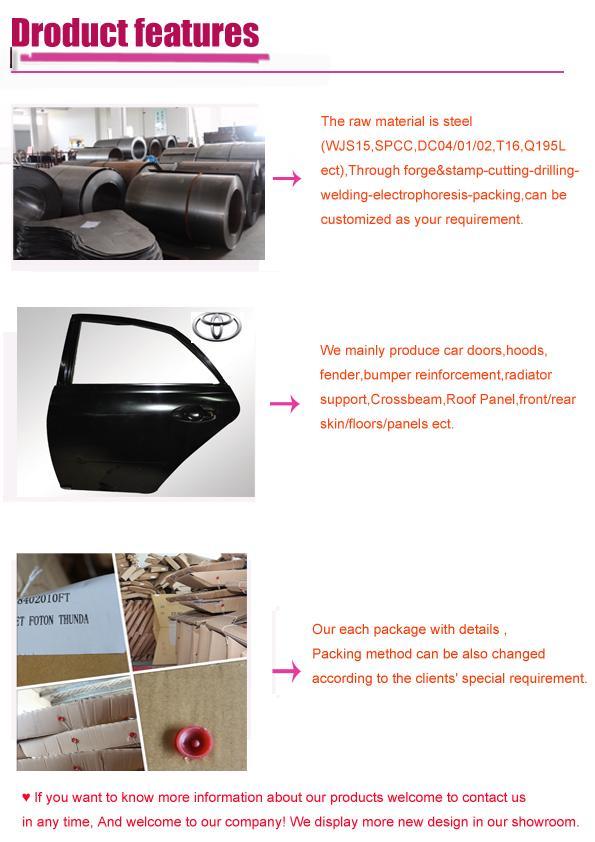 Juncheng Car Metal Body Door Isuzu 700p Side Panel Outer - Buy ...