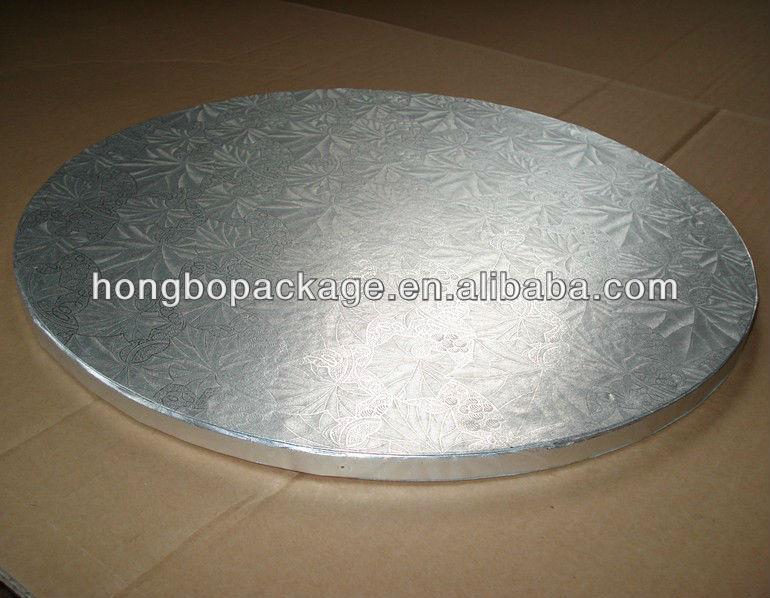 Round Gold Foil Corrugated Cake Tray Cake Drum Buy Cake