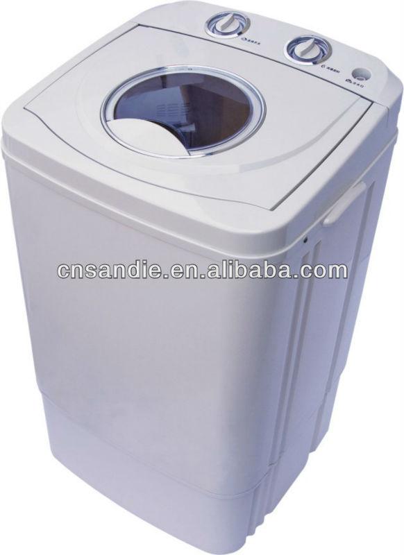 Washing Machine With Dryer Part - 48: Mini Semi Single Tub Washing Machine With Transparent Body With Dryer