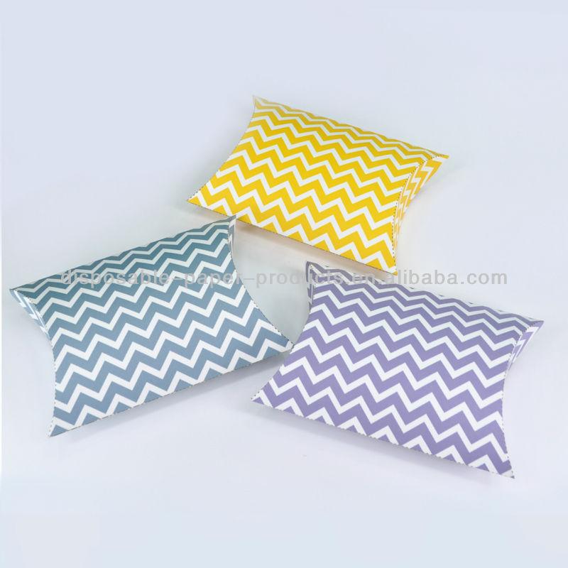 Pink Polka Dot Pillow Boxes Spots Dots Wedding Pillow Gift Boxes ...
