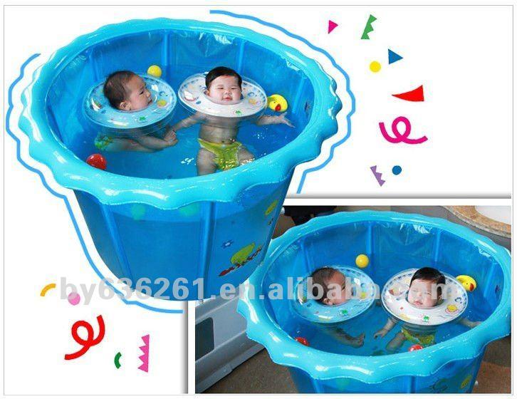 Grand gonflable bébé jumeaux piscine