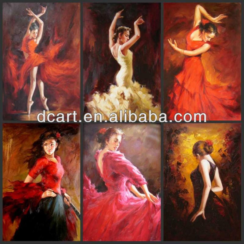 Abstract Painting Of Indian Dancers | www.pixshark.com ...