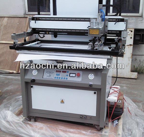 plate printing machine