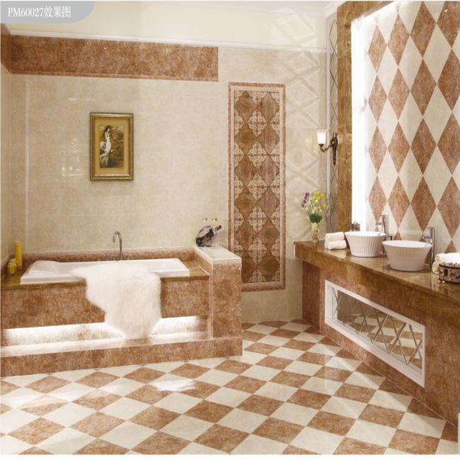 24 Cool Bathroom Digital Tiles Images