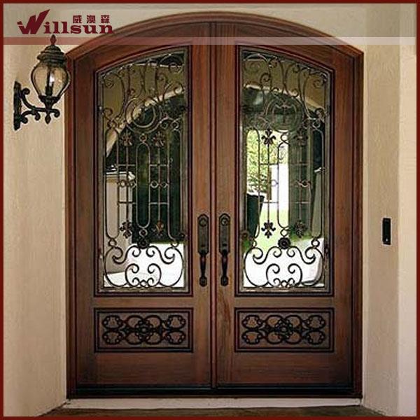 Hermoso dise o lowes puertas de entrada de hierro forjado for Diseno puertas hierro