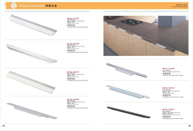 India Style Aluminium Kitchen Cabinet Handle - Buy Kitchen Cabinet ...