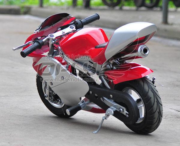 49cc Gasoline Pocket Bike Gas Pocket Bikes With Electric Start