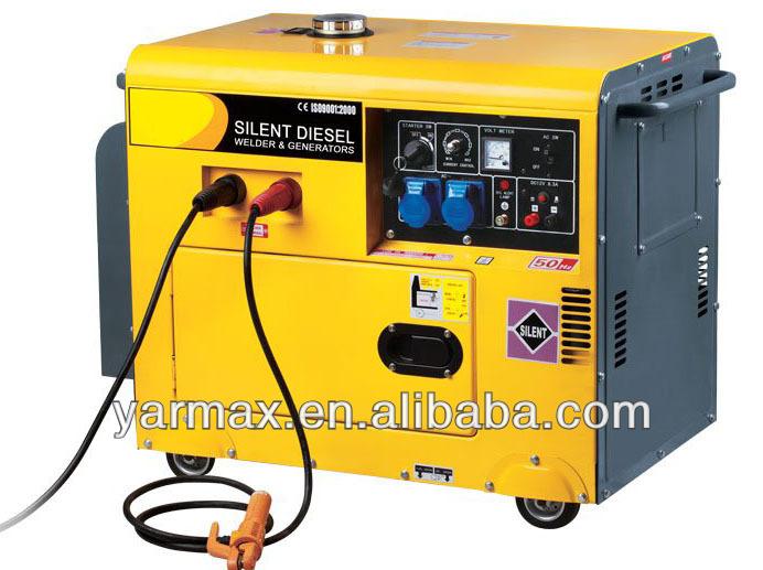 China Supplier Silent Motor Generator Portable Welding Machine ...