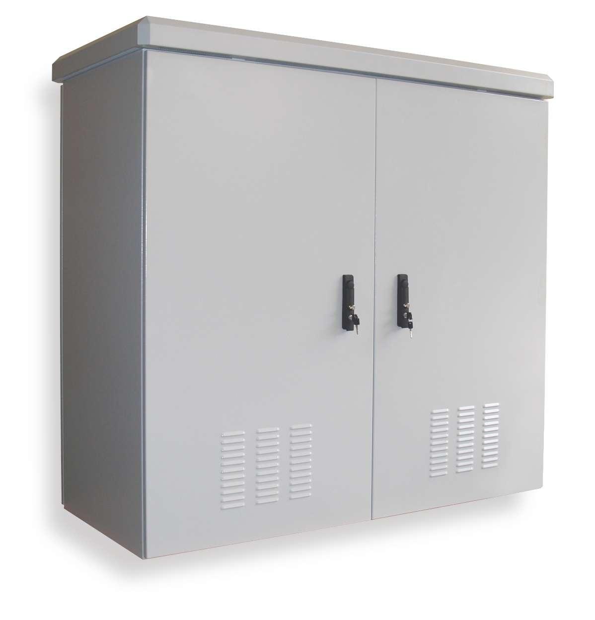 Outdoor Electric Steel Cabinet Waterproof Outdoor Tv