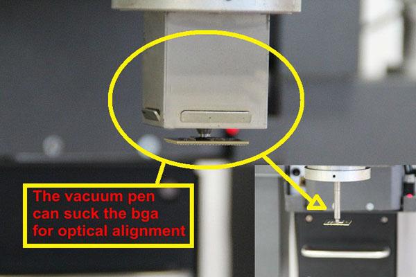 semi automatic and place machine