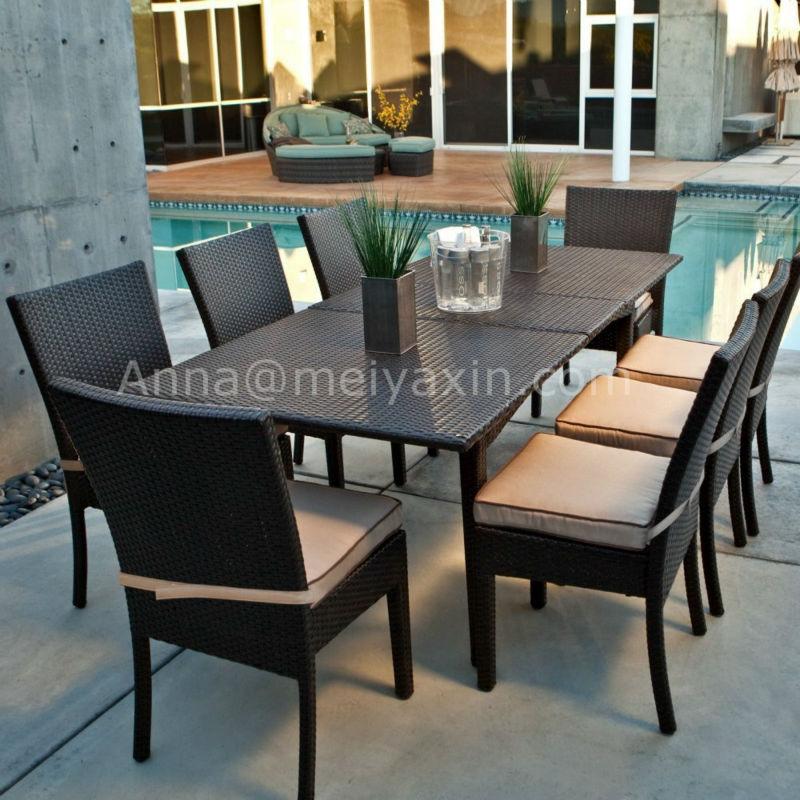 Md 301 Synthetic Rattan Furniture Cheap Poly Garden Gardeners Eden
