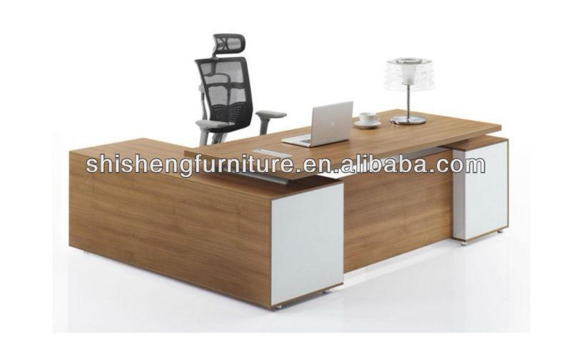 New 2014 Executive Office Table Designluxury Modern Executive