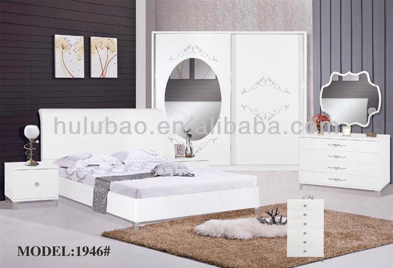 Multicolore Ensemble De Chambre Adulte, Noir Mobilier De Chambre Adulte,  MDF Ensemble De Chambre