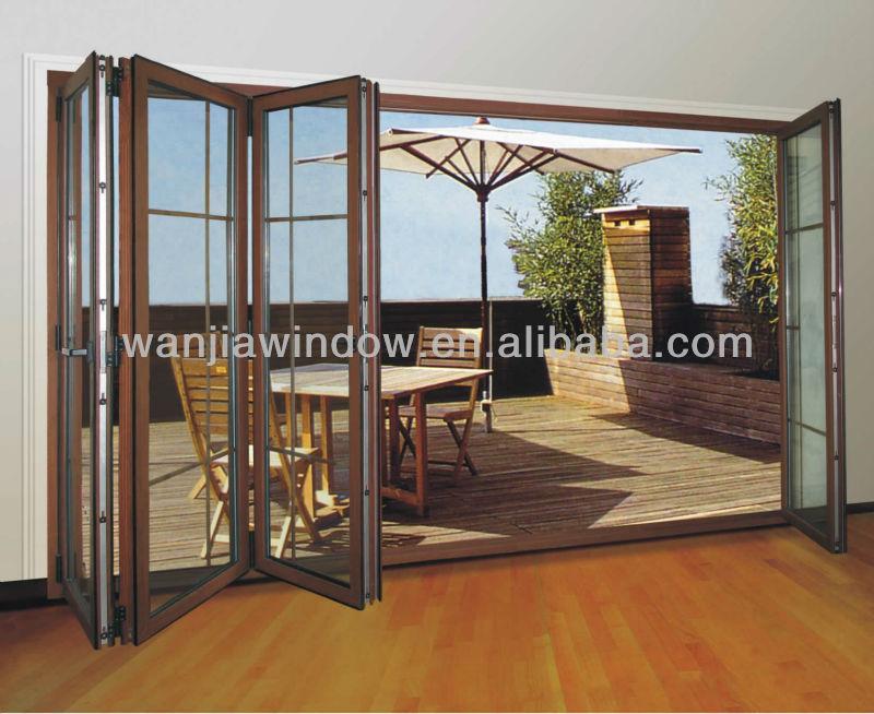 Aluminium Folding Door Design Main Entrance Door Factory Price ...