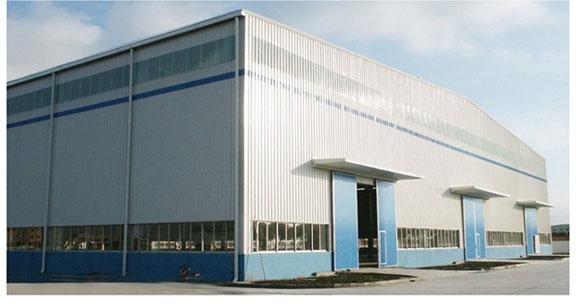 Building Sandwich Panel : Light steel frame sandwich panel warehouse workshop