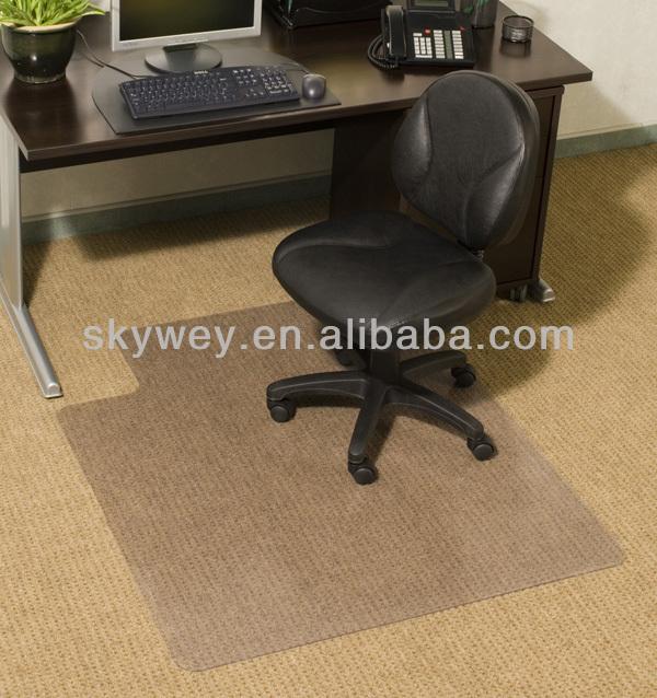 Anti Slip Office Pvc Rubber Desk Mat