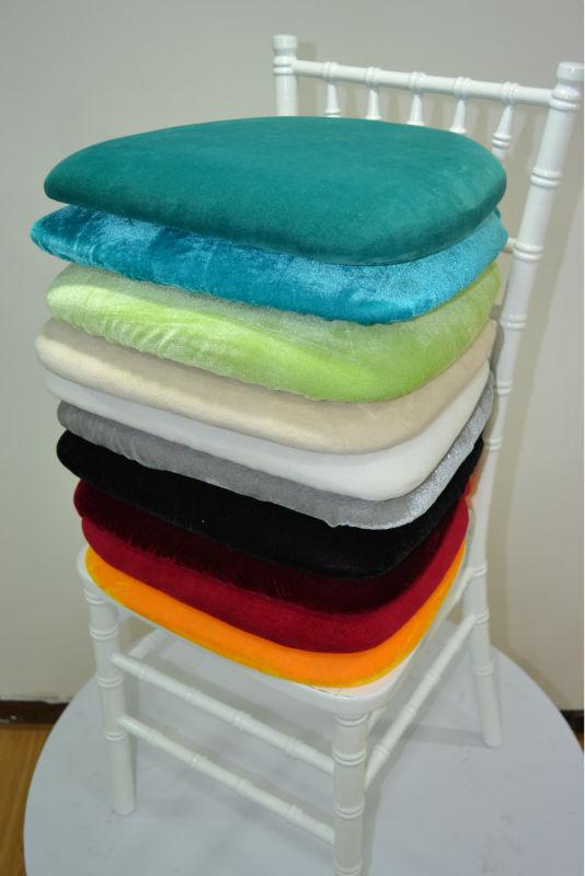 ... Delightful Velvet Chair Pads #27   For Chiavari Chair, Chiavari Chair  Jacquard Cushion