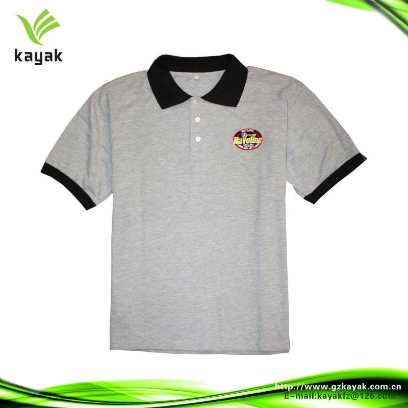 3d22b6f1f3 Vermelho E Branco Impresso Polo Camisa Com Fundo Side Slit - Buy ...