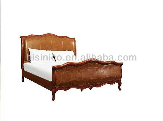 изысканный деревянные резные набор мебели для спальнисани кровать с