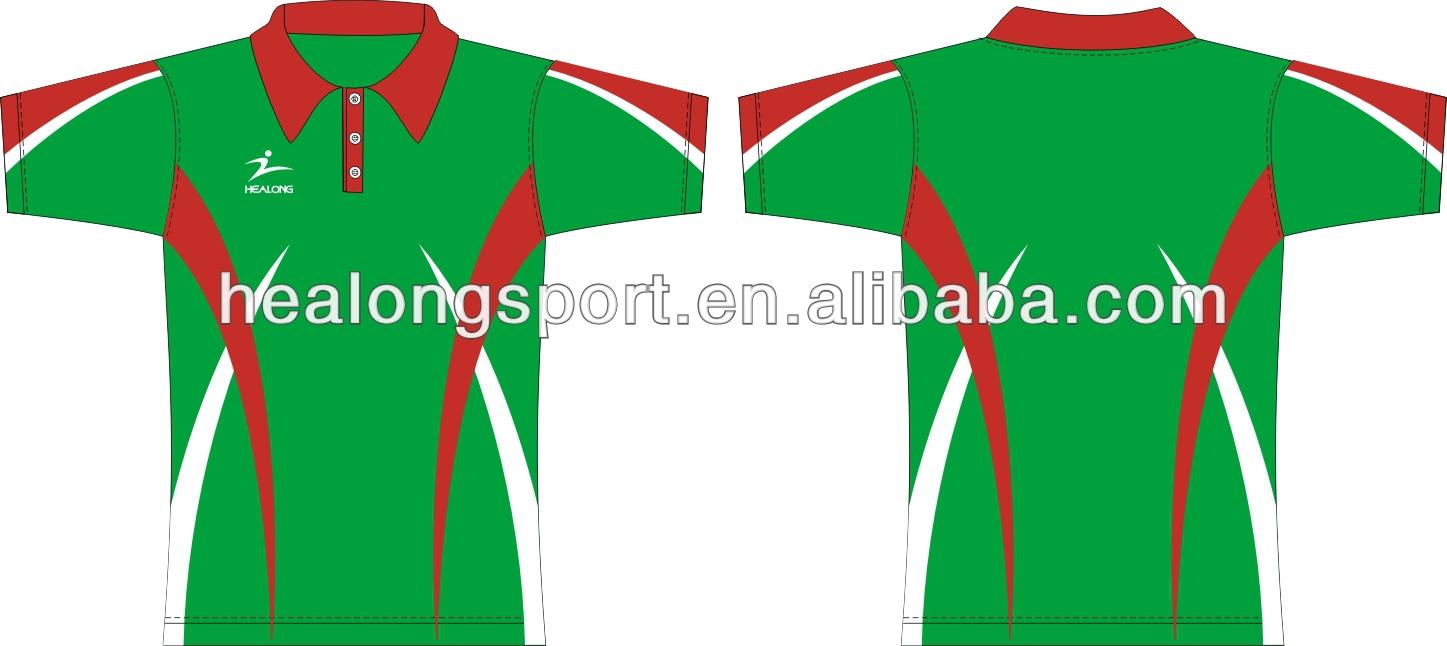 Shirt design green - Sublimation Blanks Polo Shirt Design Maker