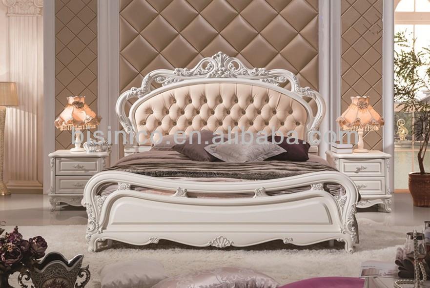 Elegantes Muebles De Dormitorio De Madera,Exquisita Madera Tallada ...