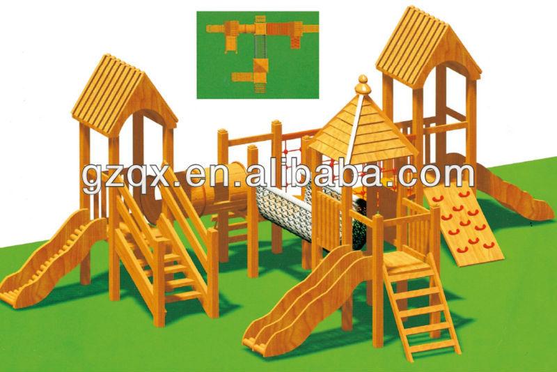 Best Indoor Wooden Slide Childrens Wooden Playsets Playground ...