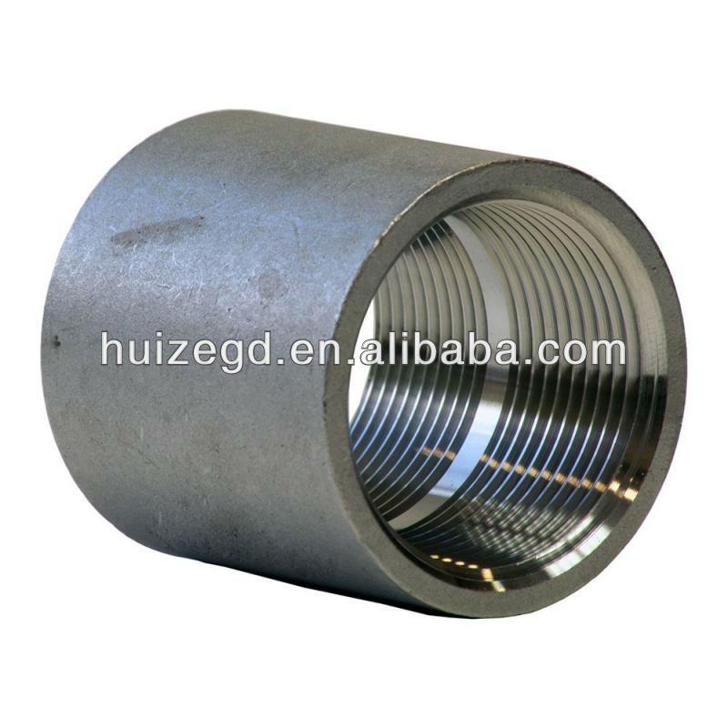 Dn15 Din 2986 Stainless Steel Npt Threaded Half Coupling