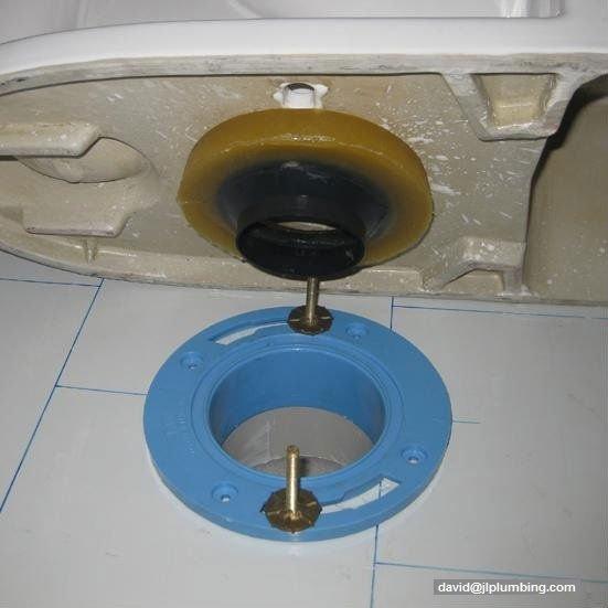 how to open toilet flange