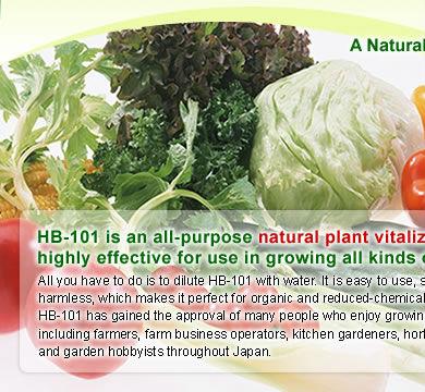 Natural plant vitalizer hb 101 plants fertilizer buy plants fertilizer product on - Organic flower fertilizer homemade solutions ...