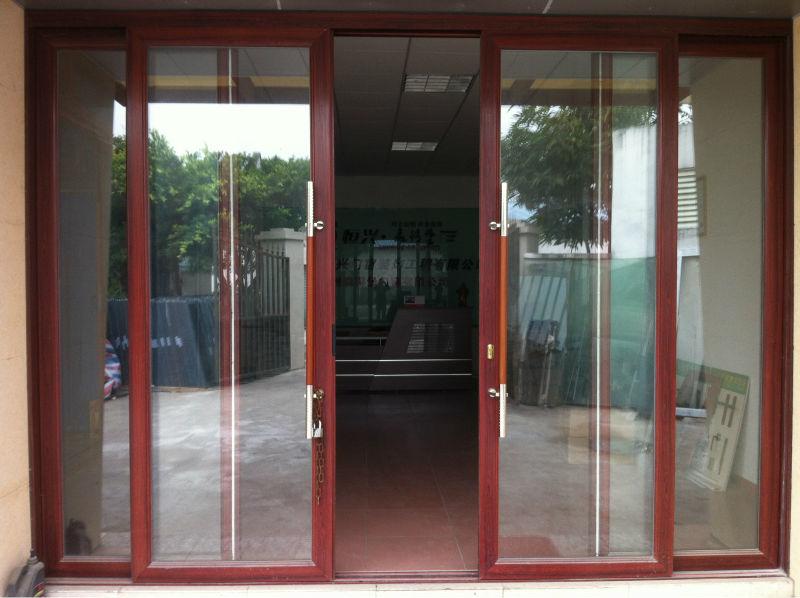 Sdp Double Porte Vitrée Porte Dentrée Pour Coulissante Style - Porte d entrée coulissante