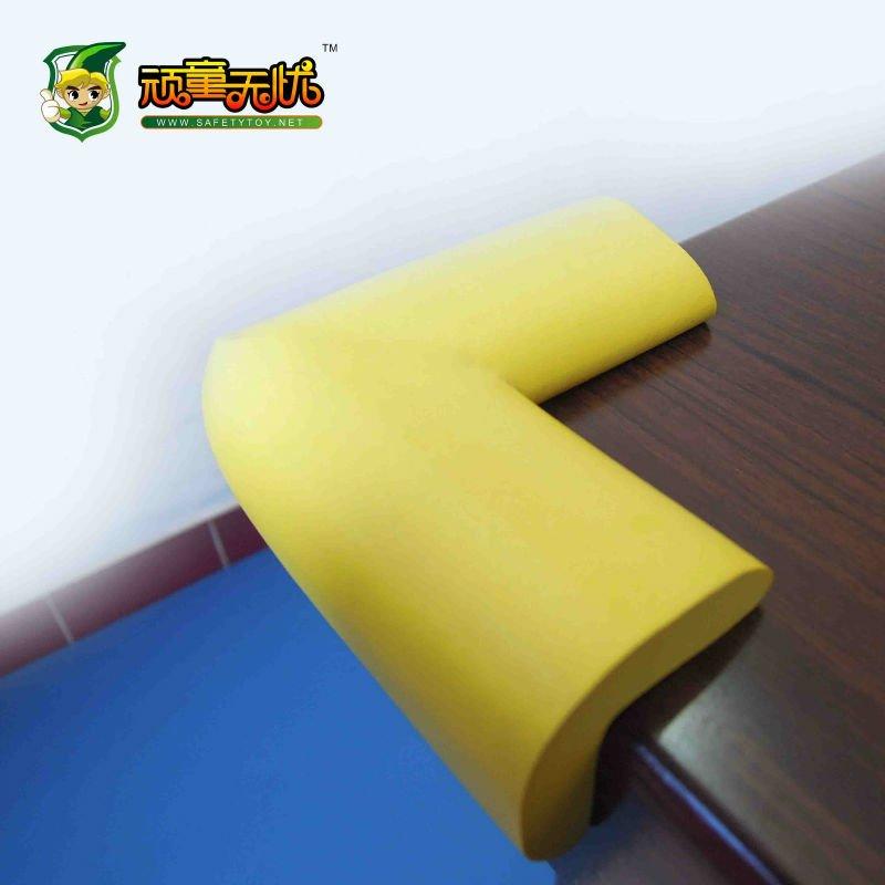 Wonderful Sharp Furniture Hard Table Glass Shelf Rubber Foaming Soft Baby