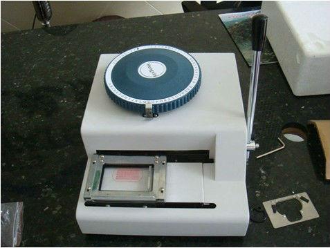 metal tag making machine