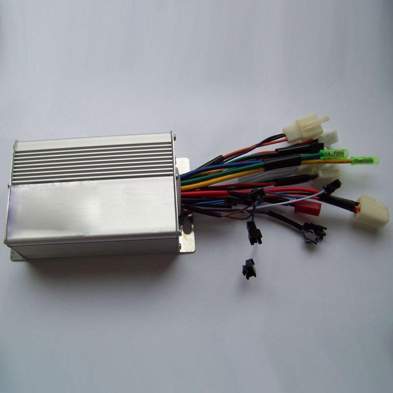 36v 48v 350w 9mosfets Brushless Hub Motor Controller