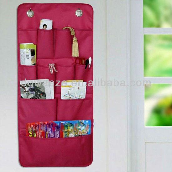 Fabric Hanging Closet Organizer/hanging Wall Pocket Organizer/wall Hanging  Storage Organizer
