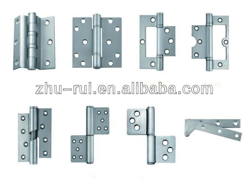 Light weight silver aluminum hinge for doors and cabinets buy aluminum door pivot hinge - Tipos de bisagras para puertas ...