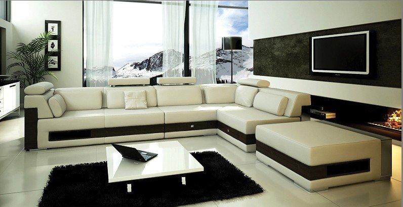 Moderne sofa modern brown washable velvet fabric corner for Braunes ecksofa