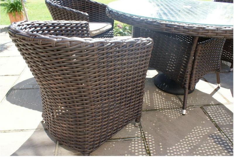 Sienna Rattan Garden Furniture Outdoor Small Round Table