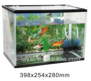 23l Modern Fashion Imported Glass Aquarium For Turtles Simple ...